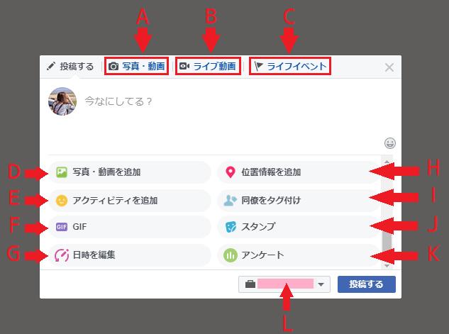 プロフィール画面の個人投稿で使える11の機能